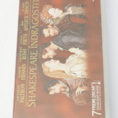 Caseta video VHS originala film tradus Ro - Shakespeare Indragostit