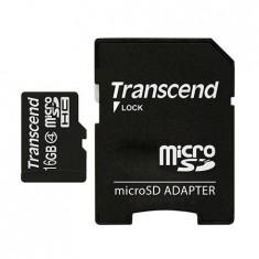 MICRO SD CARD 16GB CLS4 ADAPTOR TRANSCEND