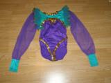 Costum carnaval serbare body dans balet gimnastica pentru copii de 9-10 ani, Din imagine