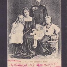 CASA REGALA ROMANA FAMILIA PRINCIARA REGINA MARIA REGELE FERDINAND CIRCULATA1902