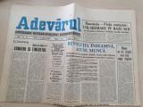 adevarul 9 ianuarie 1990-articole revolutia romana,primul miting liber