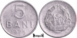 1975, 5 Bani - RSR - Romania