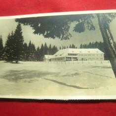 Ilustrata -Fotografie -Poiana Brasov circ.1939 ,pliu usor in dreapta