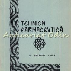 Curs De Tehnica Farmaceutica II - Al. Pastia