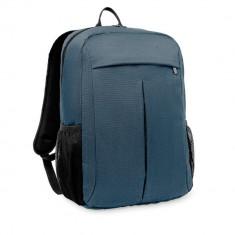 Rucsac 360D in 2 nuante, poliester, Everestus, RU43, albastru, saculet de calatorie si eticheta bagaj incluse