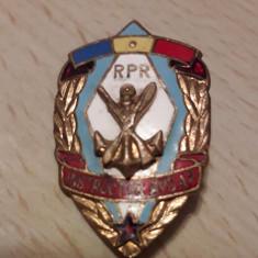 Insigna instructor AVSAP comunista RPR