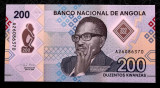 Angola 200 kwanzas 2020 polimer UNC necirculata **