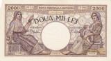 ROMANIA 2000 LEI 1941 AXF