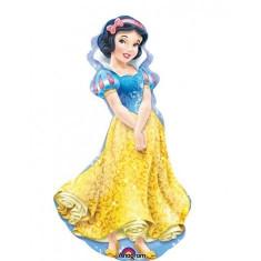Balon Folie Alba Ca Zapada Figurina