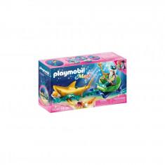 Playmobil Magic - Regele marii cu trasura rechin