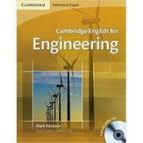 Cambridge: English for Engineering - Student's Book (with 2x CDs)