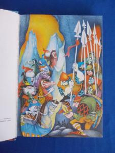 J.R.R. TOLKIEN - O POVESTE CU UN HOBBIT , ILUSTRATII LIVIA RUSZ , 1975