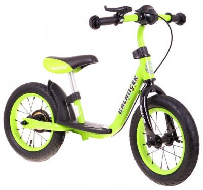 Bicicleta fara pedale SporTrike Balancer, verde foto