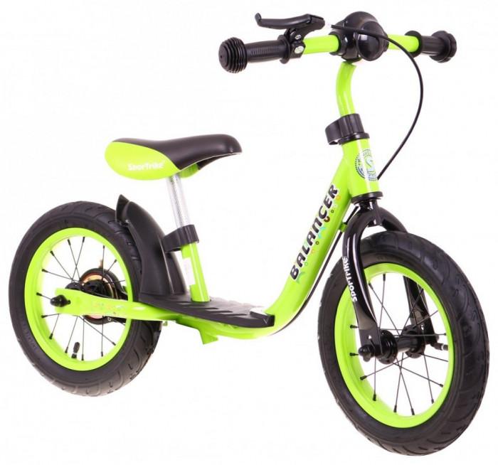 Bicicleta fara pedale SporTrike Balancer, verde