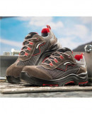 Pantofi protectie lucru fara metal cu bombeu compozit si lamela kevlar in talpa