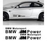 Sticker auto laterale BMW M Power (v3)