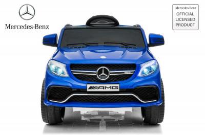 Masinuta electrica pentru copii Mercedes GLE63S 2x22W 12V #Albastru foto