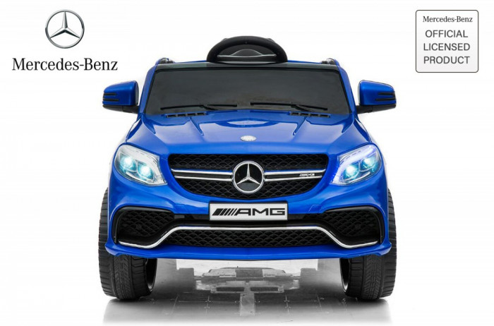 Masinuta electrica pentru copii Mercedes GLE63S 2x22W 12V #Albastru
