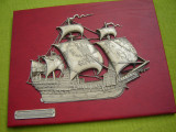 Tablou, corabie de epoca CALEON Espania 1540