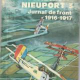 Escadrila Nieuport 3, Jurnal de front 1916-1917