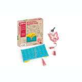 Set creativ Breloc si etui ochelari Chalk and Chuckles, 8 ani+