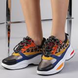 Pantofi sport dama Antonela albastri, 36, 39, 40