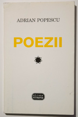 Adrian Popescu - Poezii (Editura Vitruviu, 1998, antologie) foto