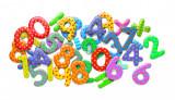Cumpara ieftin Cifre magnetice colorate pentru copii
