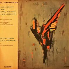Paul Constantinescu – Triplu Concert Pentru Vioară, Violoncel, Pian & Orchestra