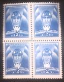 Cumpara ieftin Romania 1932 pilot, cap de pilot Timbrul aviatiei bloc de 4, val. 2Lei, mnh