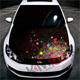 """Sticker Imprimat Color pentru Capota """"Hood Art"""" cod: KM-HOOD-231"""