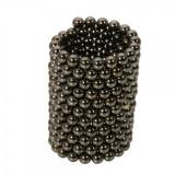 Cumpara ieftin Neocube 216 bile magnetice 5mm, joc puzzle, culoare negre