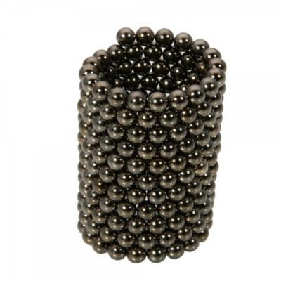Neocube 216 bile magnetice 5mm, joc puzzle, culoare negre foto