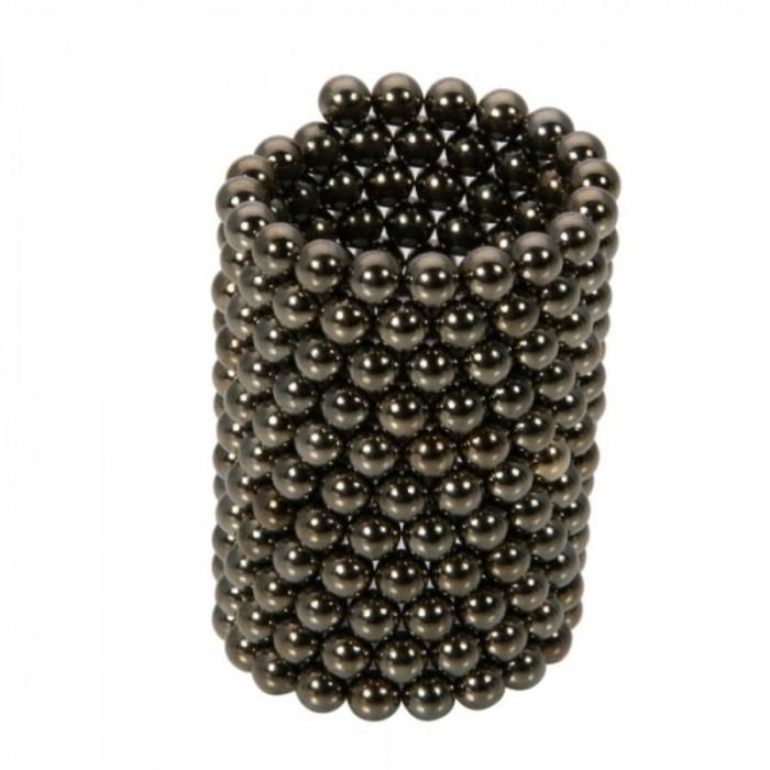 Neocube 216 bile magnetice 5mm, joc puzzle, culoare negre