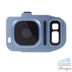 Ornament Camera Samsung Galaxy S7 G930 / S7 edge G935 Albastru
