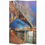 Paravan cameră pliabil, 120 x 170 cm, Sydney Harbour Bridge, vidaXL