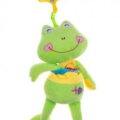 Jucarie copii din plus Akuku cu clips Frog A0391