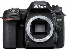 Aparat Foto DSLR Nikon D7500, Body, Negru foto