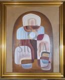 """TABLOU, """" GHEORGHE SARU """" , TRADITIE MILENARA """" , U/P 1983"""