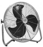 Ventilator de podea Home PVR40, 90 W, 3 trepte viteza, Cromat (Gri)