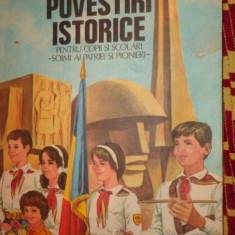 Povestiri istorice partea a treia /an 1984/ilustratii/an 1979- Dumitru Almas