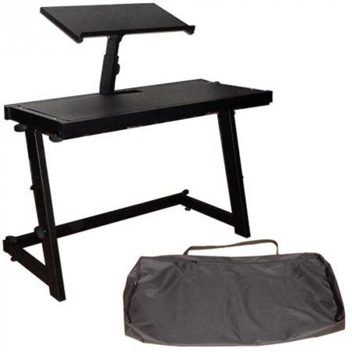 Stand pentru orga si laptop, husa transport inclusa