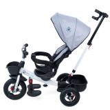 Tricicleta cu scaun rotativ Evora gri KidsCare