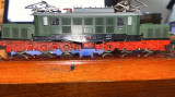 locomotiva BTTB E94 'crocodil'tt.trenulet electric pe 12mm