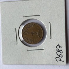 P587 GUERNSEY 1/2 NEW PENNY 1971