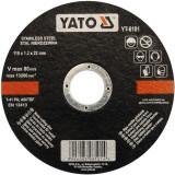 Disc debitat otel inoxidabil 115 x 1.2 x 22 mm Yato YT-6101