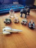 Colectie aproape complecta personaje si navete Star Wars, Disney