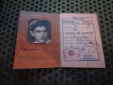 carnet de student an 1948 facultatea parhon pe numele minculescu octavian c21