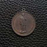 Medalie Vasile Alecsandri - 1905 - Iasi - medalion bronz