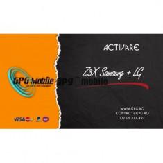 Activare Samsung si LG pentru Z3X sau Z3X Easy JTAG